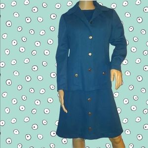 Vintage 2 Piece Dress Jacket Set